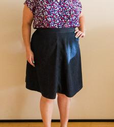 Denim Hollyburn Skirt