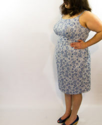 Blue & White Retro Sundress